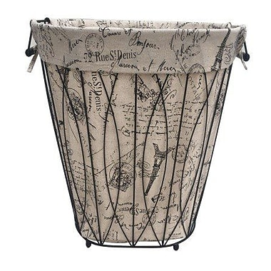 One Allium Way Tapered Round Laundry Hamper
