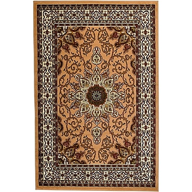 Astoria Grand Moran Beige Area Rug; 2' x 3'