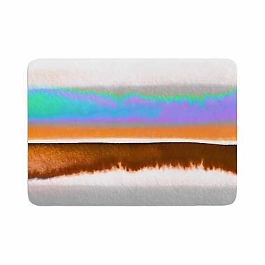 East Urban Home Ebi Emporium Prism Stripes 1 Memory Foam Bath Rug; 0.5'' H x 24'' W x 36'' D