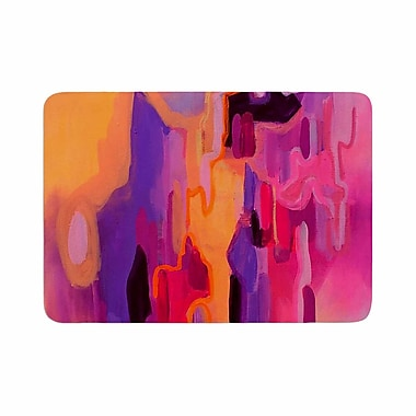 East Urban Home Geordanna Fields Pungent Euphoria Abstract Memory Foam Bath Rug