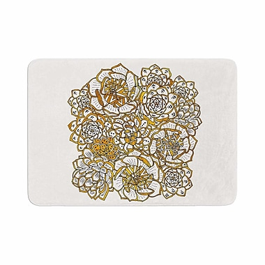 East Urban Home Pom Graphic Design Bohemian Succulents II Floral Memory Foam Bath Rug