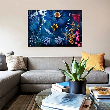 East Urban Home 'Seasons VIII' Graphic Art Print on Canvas; 26'' H x 40'' W x 0.75'' D