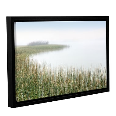 Highland Dunes 'Crescent Beach Calm 2' Framed Photographic Print on Canvas; 12'' H x 18'' W x 2'' D