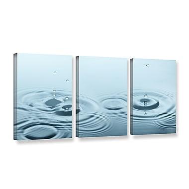 Latitude Run 'Rain 4' Photographic Print Multi-Piece Image on Canvas; 18'' H x 36'' W x 2'' D