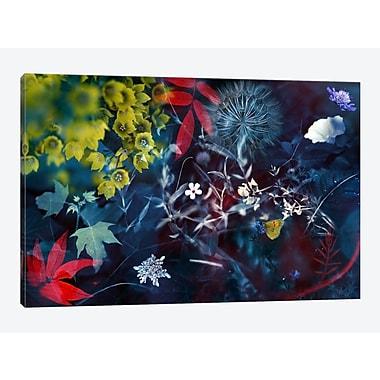 East Urban Home 'Seasons I' Graphic Art Print on Canvas; 12'' H x 18'' W x 1.5'' D