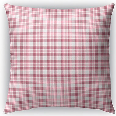 Harriet Bee Ridgeley Plaid Indoor/Outdoor Throw Pillow; 16'' H x 16'' W x 4'' D