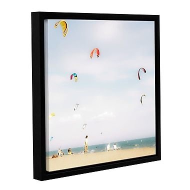 Highland Dunes 'Summer Fun #3' Framed Photographic Print on Canvas; 10'' H x 10'' W x 2'' D
