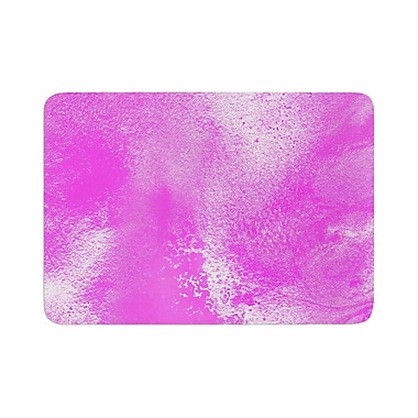 East Urban Home Ashley Rice AC5 Abstract Memory Foam Bath Rug; 0.5'' H x 17'' W x 24'' D