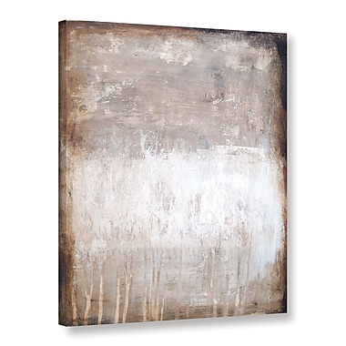 Latitude Run 'Stone Abstract IX' Painting Print on Canvas; 24'' H x 18'' W x 2'' D