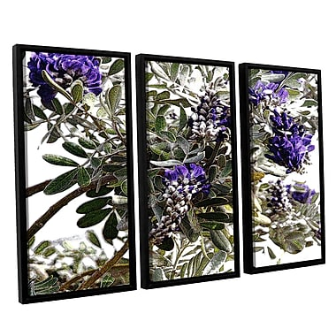 Latitude Run '1st Blooms of Spring 1' Graphic Art Print Multi-Piece Image on Canvas