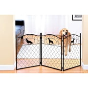 Imperial Home Freestanding Metal Dog Gate
