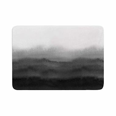 East Urban Home Draper Ombre Ink Wash Memory Foam Bath Rug; 0.5'' H x 24'' W x 36'' D