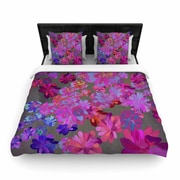 East Urban Home Marianna Tankelevich 'Flowers' Woven Duvet Cover