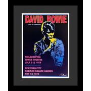 Latitude Run 'David Bowie' Framed Vintage Advertisement