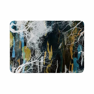 East Urban Home Iris Lehnhardt Tree of Life Abstract Memory Foam Bath Rug; 0.5'' H x 17'' W x 24'' D