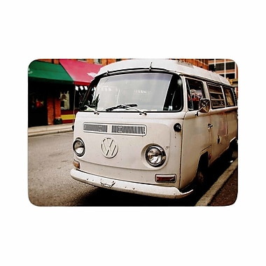 East Urban Home Angie Turner VW Bus Vintage Memory Foam Bath Rug; 0.5'' H x 17'' W x 24'' D