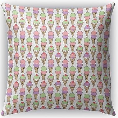 Ivy Bronx Garcia Indoor/Outdoor Throw Pillow; 16'' H x 16'' W x 4'' D