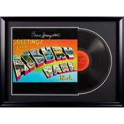 Bruce Springsteen Deluxe Album 'Greetings From Ashbury Park, NJ' Framed Vintage Advertisement