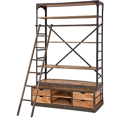 17 Stories Lindel 96'' Accent Shelf