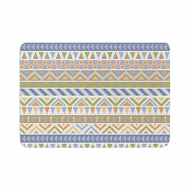 East Urban Home Noonday Design Happy Tribal Pattern Abstract Memory Foam Bath Rug