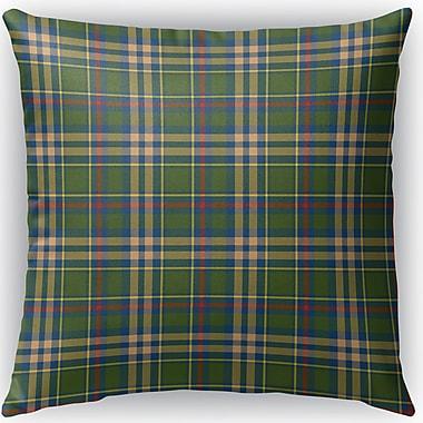 Loon Peak Hogan Plaid Indoor/Outdoor Throw Pillow; 26'' H x 26'' W x 4'' D