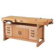 Sjobergs Elite 2000 Wooden Workbench Cabinet Combo