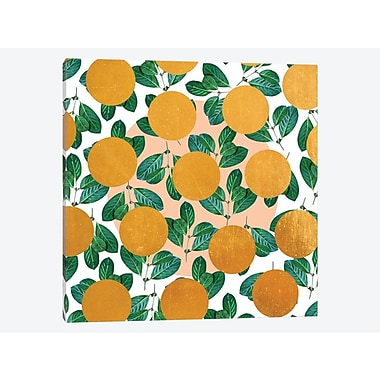 East Urban Home 'Beverly' Graphic Art Print on Canvas; 37'' H x 37'' W x 0.75'' D