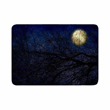 East Urban Home Sylvia Coomes Moon Celestial Memory Foam Bath Rug; 0.5'' H x 24'' W x 36'' D
