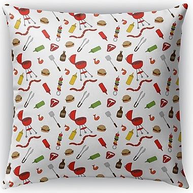 Latitude Run Ziva Indoor/Outdoor Throw Pillow; 18'' H x 18'' W x 4'' D
