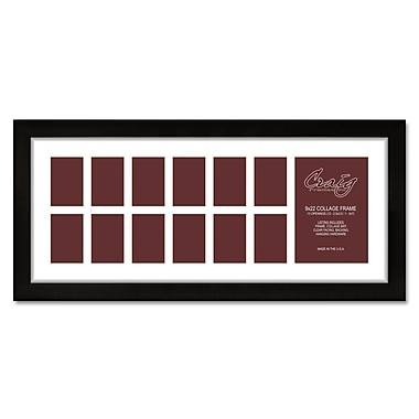 Red Barrel Studio 13 Photograph Picture Frame; 9'' x 22''