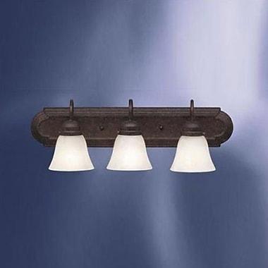 Charlton Home Newtonsville 3-Light Vanity Light; Tannery Bronze