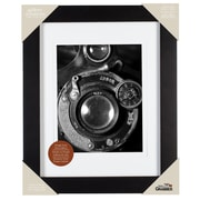 Red Barrel Studio Wood Matted Picture Frame; 8'' x 10''