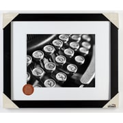 Red Barrel Studio Wood Matted Picture Frame; 14'' x 11''