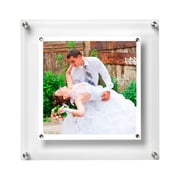 Latitude Run Square Floating Picture Frame