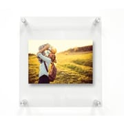 Latitude Run Double Panel Floating Picture Frame