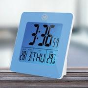 Symple Stuff Desk Clock; Blue