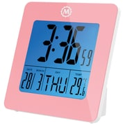 Symple Stuff Desk Clock; Pink