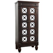 One Allium Way Plath Jewelry Armoire; Espresso