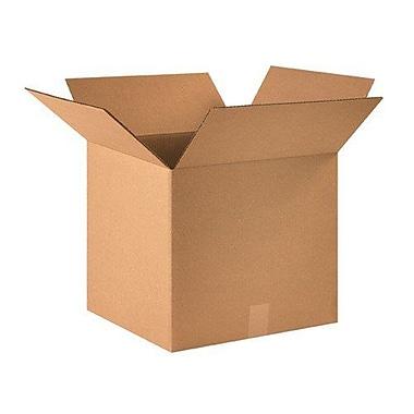 Uboxes – Boîtes en carton ondulé 18 x 14 x 12 po, 80/paquet