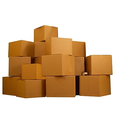 Uboxes Economy Moving Boxes Kit #6, 6-7 Rooms