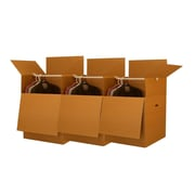 "Uboxes Shorty Wardrobe Boxes (Bundle of 3) 20"" x 20"" x 34"""