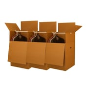 "Uboxes Larger Wardrobe Boxes (Bundle of 3) 24""x24""x40"""