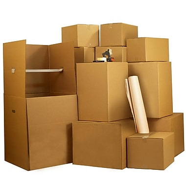 Uboxes Wardrobe Moving Boxes Kit #7, 7-8 Rooms