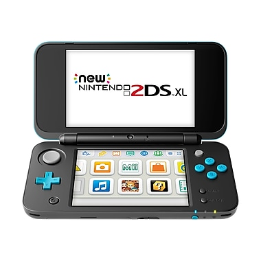 Nintendo 2DS-XL HW Black & Turquoise (New) 2DS-XL