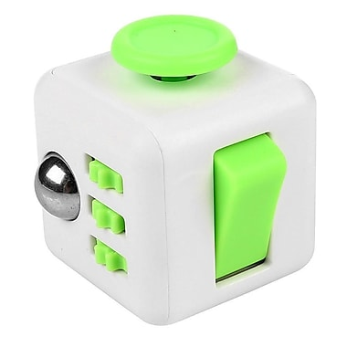 Fidget Cube Anxiety and Stress Reliever Focus Toy, Green