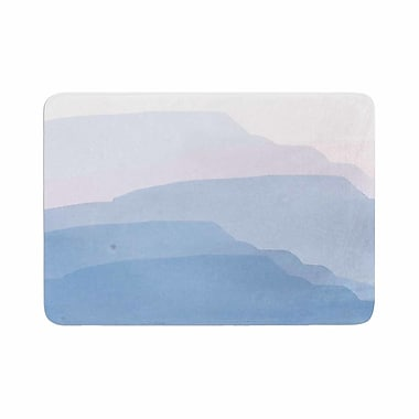 East Urban Home Jennifer Rizzo Layered Mountains Abstract Memory Foam Bath Rug