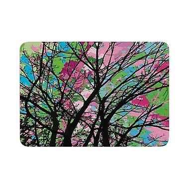 East Urban Home Empire Ruhl Tree of Spring 2 Memory Foam Bath Rug; 0.5'' H x 24'' W x 36'' D