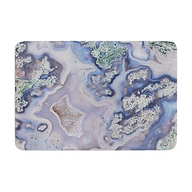 East Urban Home Geode Memory Foam Bath Rug; 0.5'' H x 24'' W x 36'' D