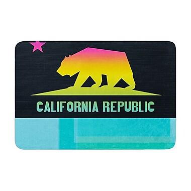 East Urban Home Fimbis California Memory Foam Bath Rug; 0.5'' H x 24'' W x 36'' D