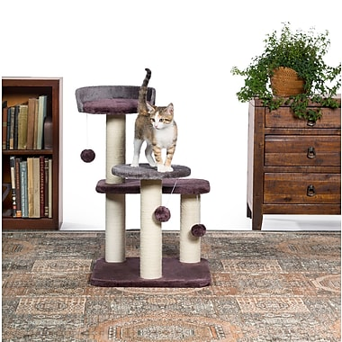 Prevue Hendryx 28'' Kitty Power Paws Play Palace Cat Tree